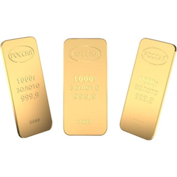 Муляжи золотых слитков